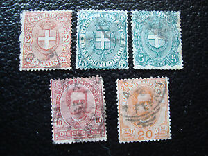 Italy-Stamp-Yvert-and-Tellier-N-56-A-60-Obl-A11-Stamp-Italy-A
