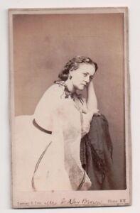 Vintage-CDV-Mrs-Sedley-Brown-Victorian-Actress-Gurney-Photo
