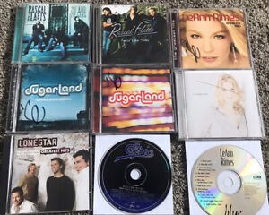 Lot Of 16 Country Music CDs Sugar Land Rascal Flatts Leann Rhimes Lonestar