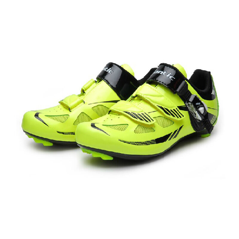Santic Men's Road SPD-SL Cycling Bicycle Bike Cycling shoes Green 39-45 Sizes
