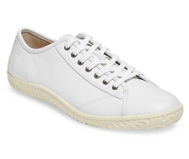 John Varvatos Star H Low Top White Leather Sneaker Mens Size 10