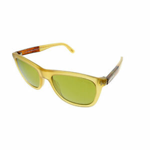 2cc76adb21 Tom Ford Andrew TF 500 41N Yellow Plastic Square Sunglasses Green ...