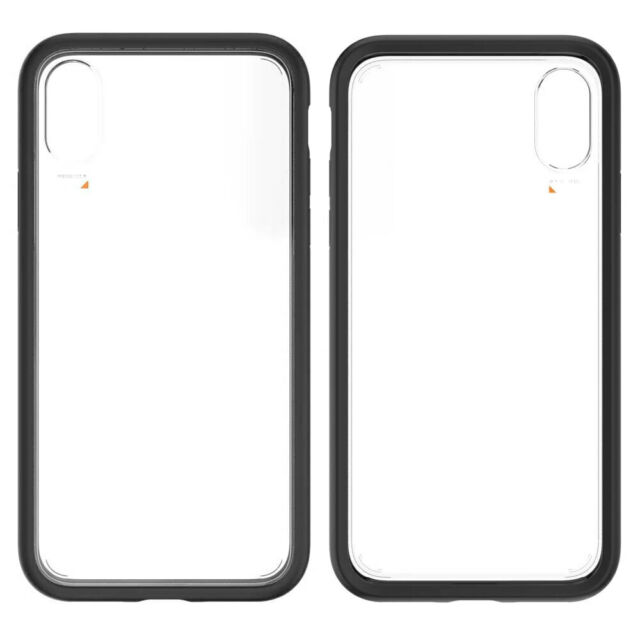 EFM Aspen D3O Case Armour Cover Protection for Apple iPhone XS Max Black/Clear