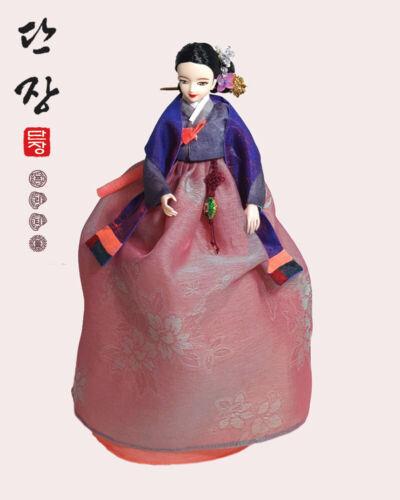 11.5 inch Younjidoll Danjang Doll Kim Man Duk Korean Traditional Hanbok Dolls