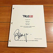 STEPHEN MOYER SINGED TRUE BLOOD FULL PILOT SCRIPT w/ EXACT PROOF PHOTO