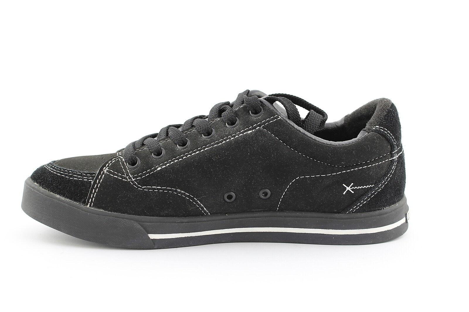 Scarpa da uomo nera pelle Kustom aston skateboard skateboard skateboard skate casual scarpe da ginnastica moda   Design lussureggiante    Maschio/Ragazze Scarpa  04fa58
