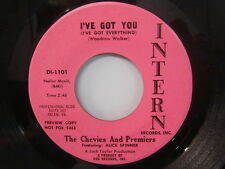 CHEVIES & PREMIERS I've Got You/ Go Get 'em GIRL GROUP Promo 45 INTERN DI-1101