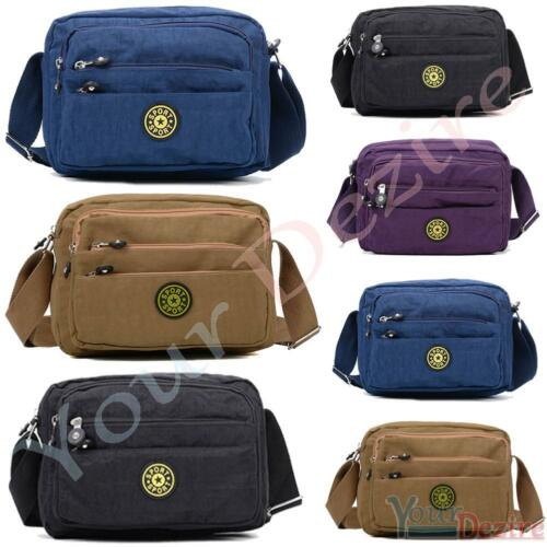 Ladies Nylon Mini Light Weight Cross Body Messenger Bag Women Shoulder Tote Satc