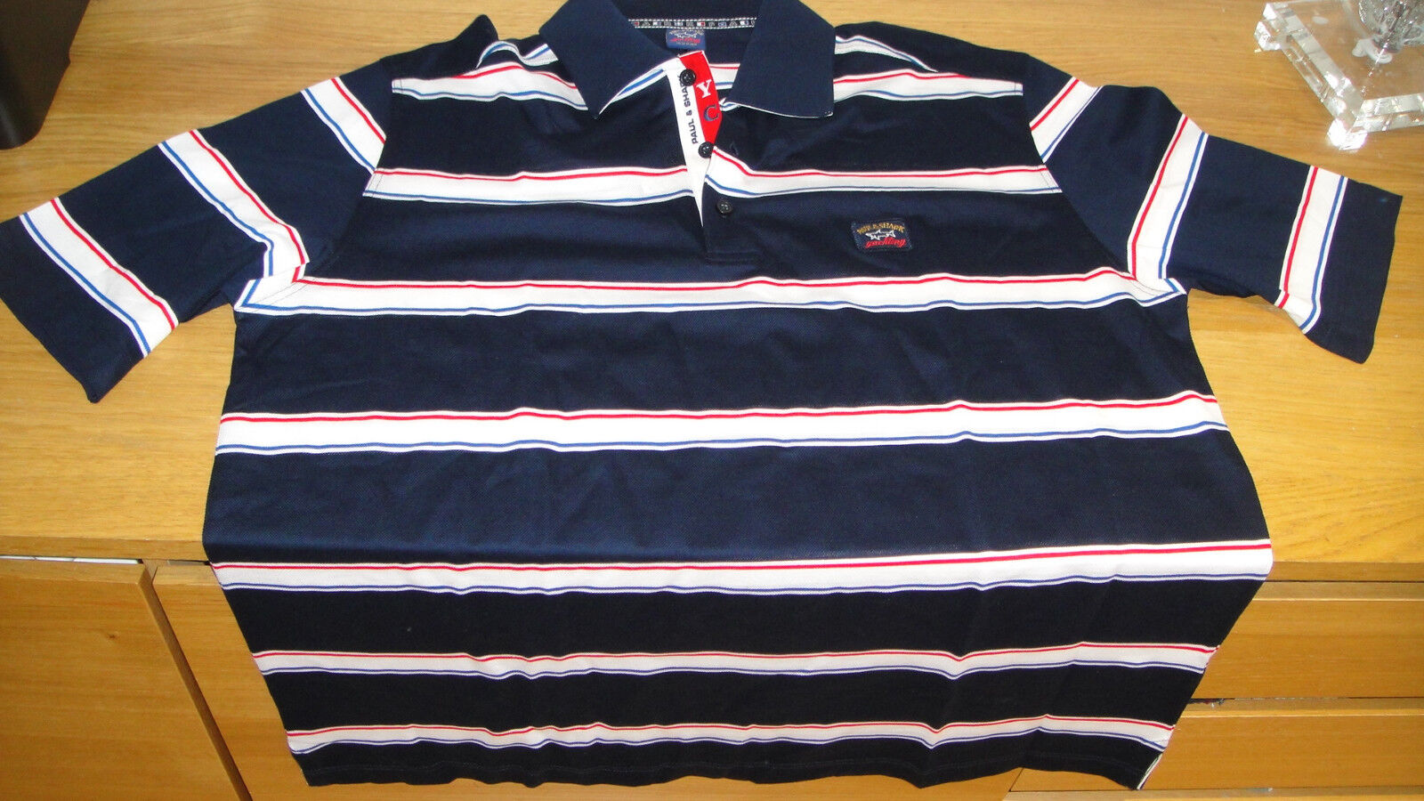 New Paul and Shark Yachting Polo Shirt bluee color Size XXL Superb Quality WOW