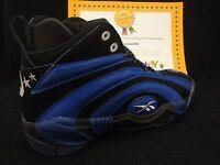 Reebok Shaqnosis - Mens Black Truth Blue White Shoes