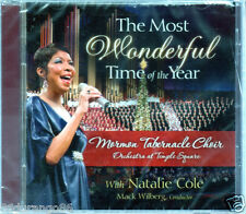 The  Most Wonderful Time of the Year by Mormon Tabernacle Choir/Natalie Cole (CD, Sep-2010, Mormon Tabernacle)
