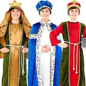 Three wise men kings boys fancy dress nativity play christmas kids