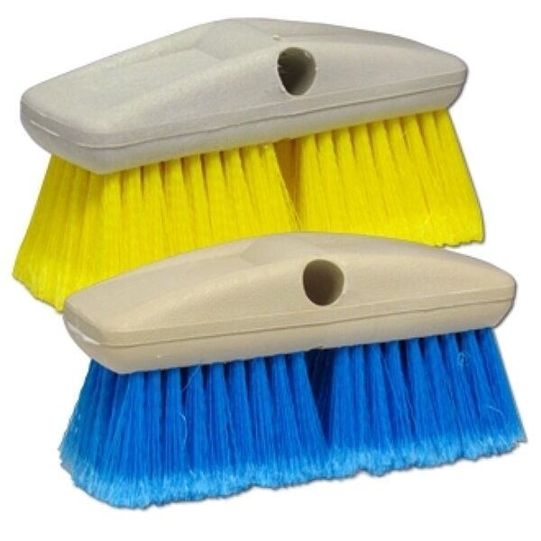 STARBRITE Extend-a-Brush Wash Brush Head - Soft (Yellow) & Medium (bluee) Avail.