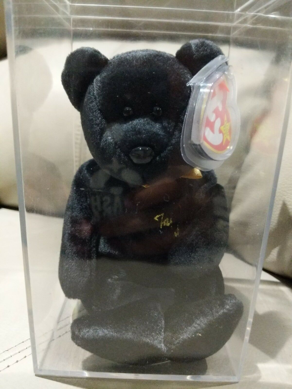 Ty beanie babies babies babies rare retired  the end  with tag errors 37842a