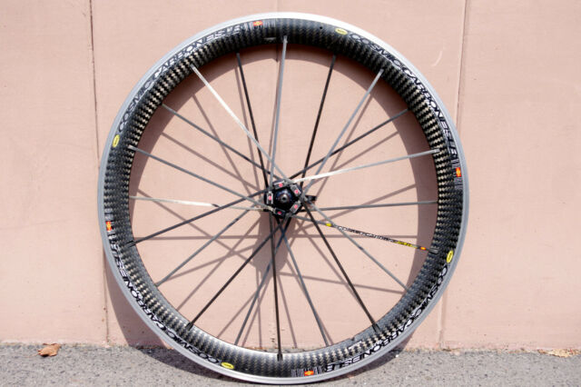 new arrivals great deals first rate Mavic Cosmic Carbone SLR Carbon Road Bicycle Clincher front Wheel 700c