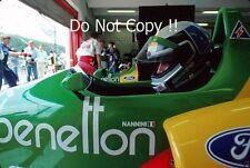 Alessandro Nannini Benetton B188 Hungarian Grand Prix 1988 Photograph