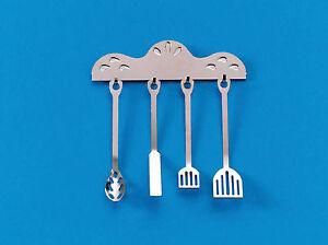 1-12-Scale-4-Metal-Kitchen-Utensils-amp-Holder-Tumdee-Dolls-House-Miniature-26
