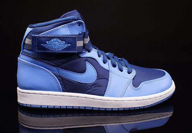 NIKE AIR JORDAN 1 HIGH STRAP FRENCH blueE UNIVERSITY blue WHITE SIZE 10