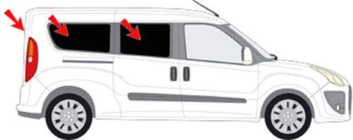 Protección solar coche discos-matiz solar cegar Opel Combo d maxi a partir de 12