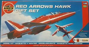 Airfix 1:48 Red Arrows Hawk Gift Set Kit Nr. 95111 - Klosterneuburg, Österreich - Airfix 1:48 Red Arrows Hawk Gift Set Kit Nr. 95111 - Klosterneuburg, Österreich