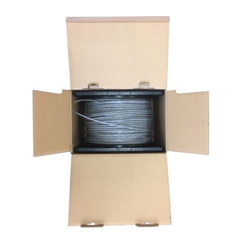 UL BYBON CAT6 1000ft Solid Copper UTP Ethernet Cable Riser rated 5 colors CMR