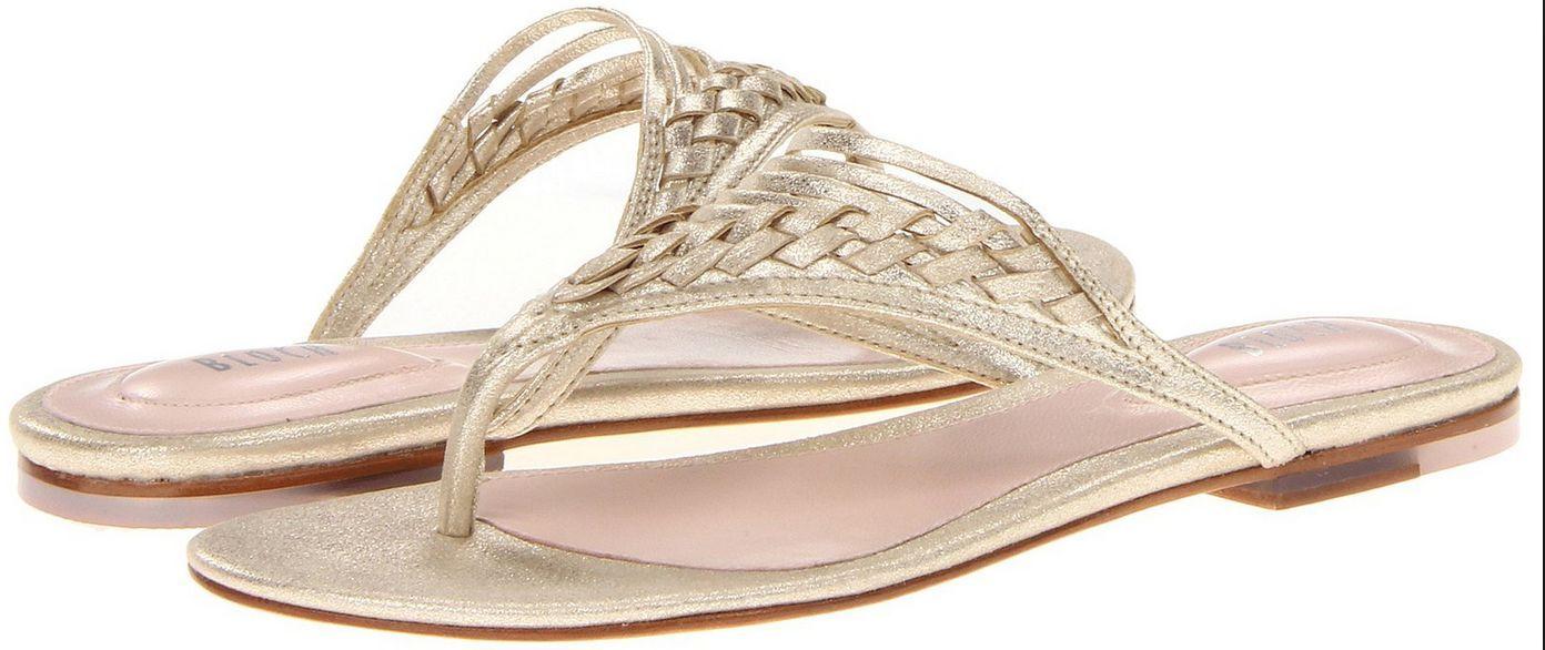 New Bloch Women's Flip Flops Flats Thong Sandals shoes, Size 9.5
