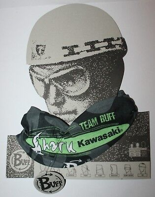 Kawasaki Original Buff Motorcycle Neck Liner Tube Balaclava Bandana Face Mask Ebay