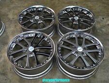 "JDM 19"" WEDS KRANZE LXZ VIP Wheels Rims 5x114.3 VIP LS400 G35 M35 GS300 Y33 Y34"