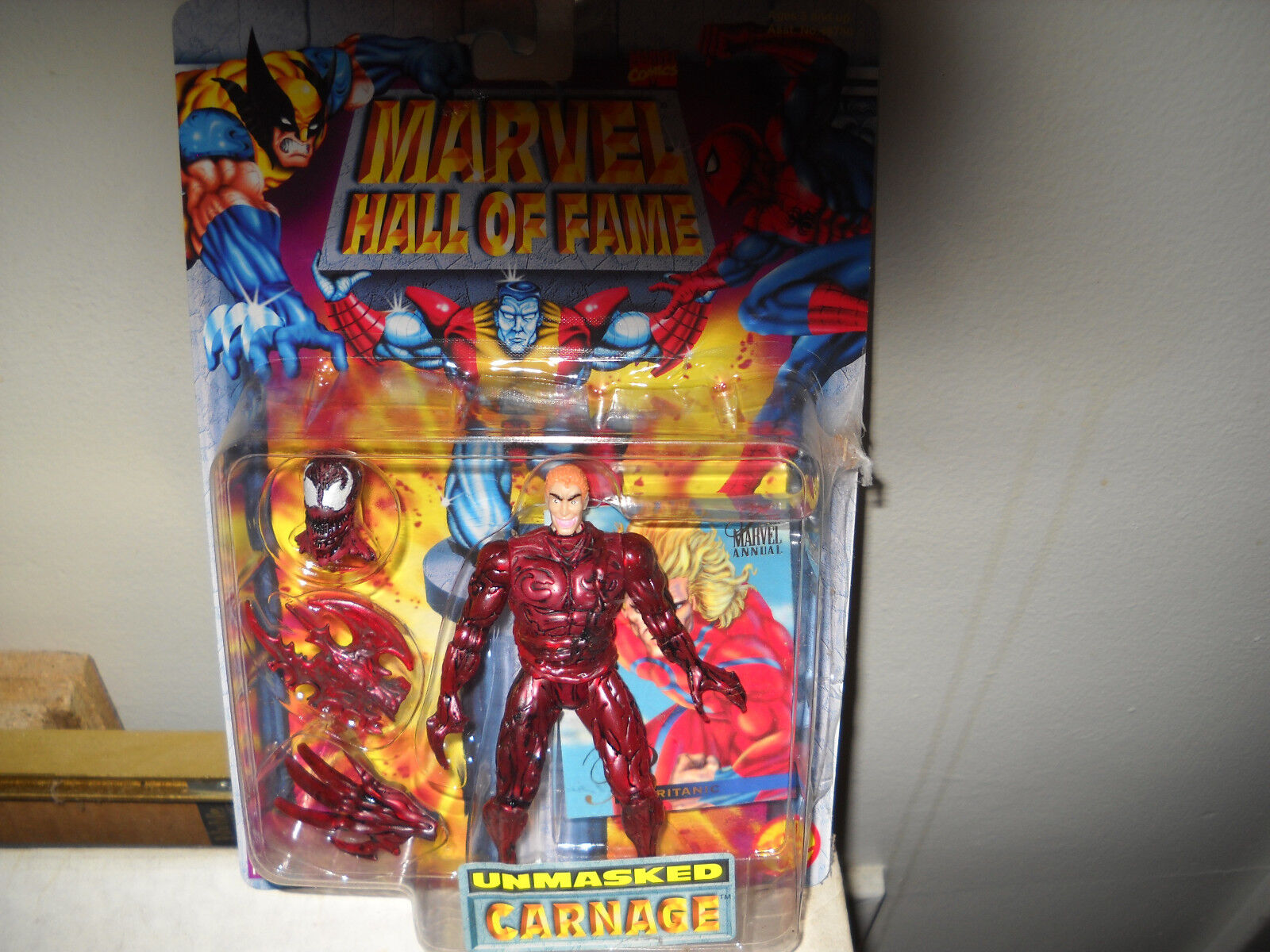 1997 MARVEL HALL OF FAME-UNMASKED CARNAGE