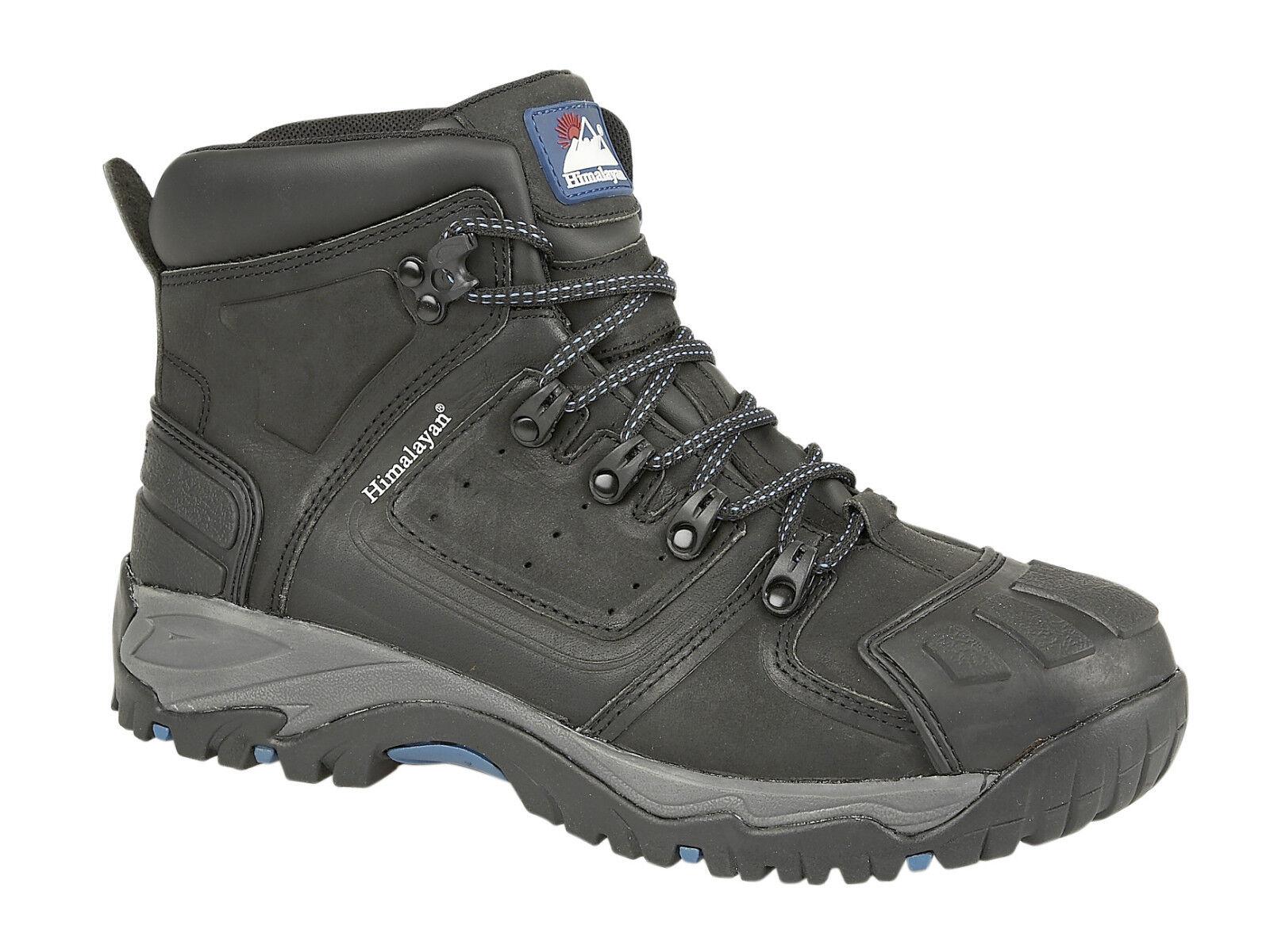 Himalayan 5206 s3 SRC In Pelle Nera Punta Acciaio Impermeabile Stivali di Sicurezza PPE | Commercio All'ingrosso  | Scolaro/Ragazze Scarpa