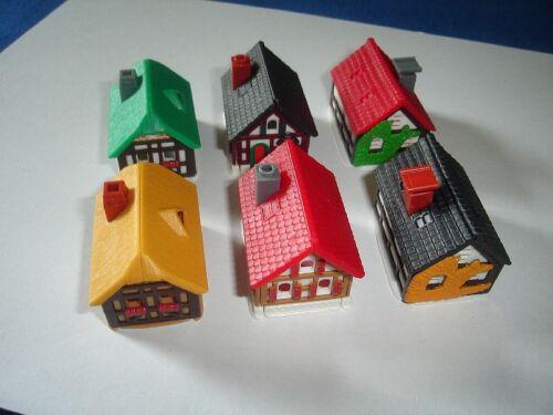 COTTAGES COUNTRY MODEL HOUSES BUILDINGS KINDER SURPRISE SET TOYS MINIATURES
