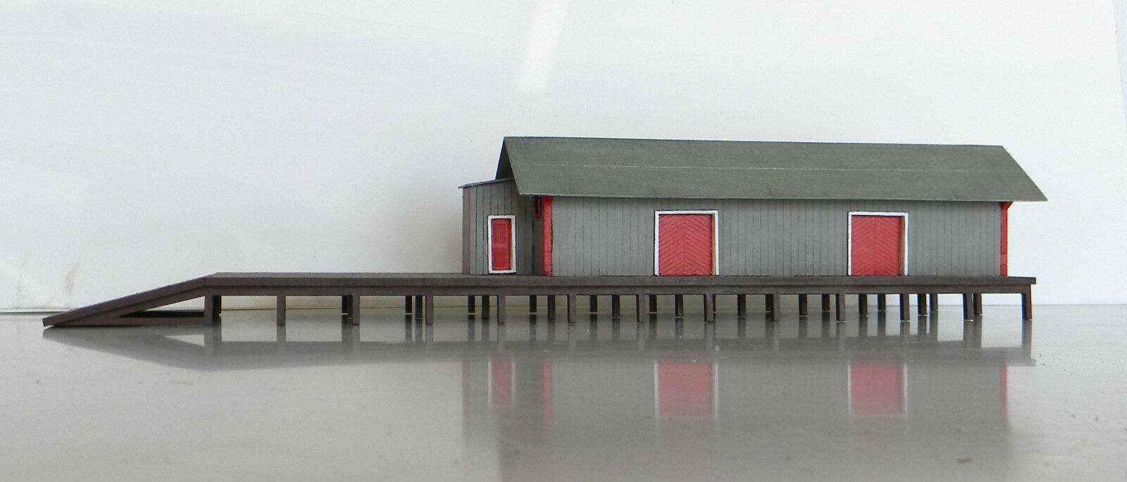 O scale building kit NSWGR Goods shed 1 43