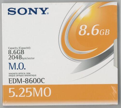 "Sony 5.25/"" RW Optical 8.6GB 2048B//S -NEW /& FACTORY SEALED EDM-8600C"