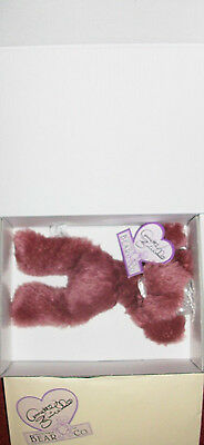 Annette Funicello Razzbeary Blizzard Mohair Bear Bean Bag Collection Great Varieties Bears