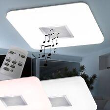 LED Decken Leuchte Bluetooth Box CCT Fernbedienung Dimmer Musik Beleuchtung IP20