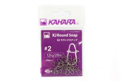 6456 Kahara Round Snap Lure Snap Size 2