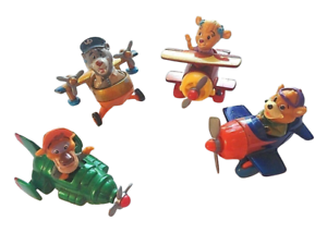McDonalds Disney Tailspin Die Cast Toy Planes Baloo Kit Molly Wildcat 1990 060