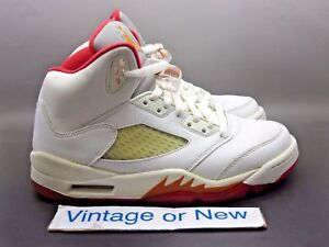 777108a04ac Women's Air Jordan V 5 Sunset Retro 2006 sz 7 | eBay