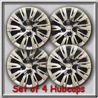 Set Of 4 16 Chrome Toyota Camry Hubcaps 2012-2014 Replica Camry Wheel Covers