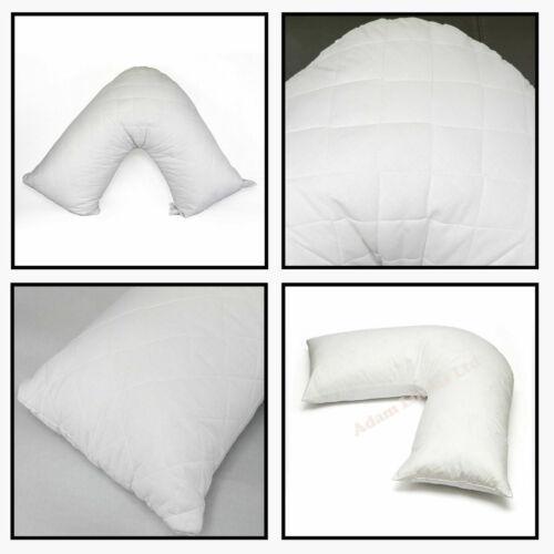 V-Shaped Back Neck Nursing Support V Pillow Orthopedic Maternity
