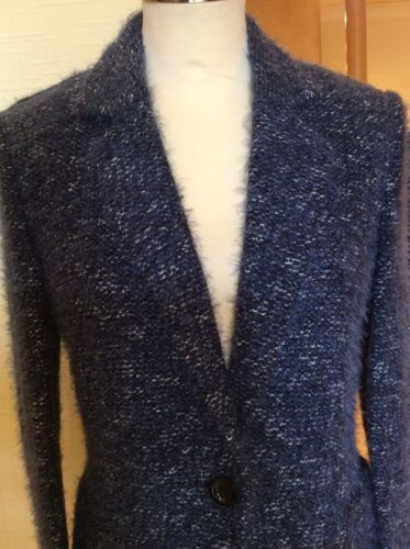 Betty Jacket Silver Chin Barclay Blue 12 Taille Bnwt rT6wZUqrO