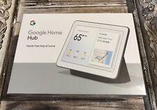 "New Google Home Hub w/Google Assistant Smart 7"" Display GA00515-US Charcoal"