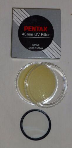 Pentax 43 43mm UV  Filter   43UV   Made In Japan   old stock New