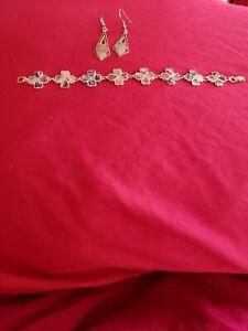 Fashion-Bracelet-with-earrings-Women-set