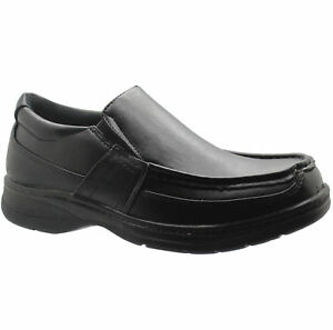 new mens black comfort xtra slip on shoes formal dress