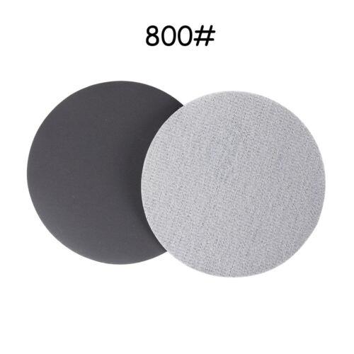 Carbide Wet or Dry  Sandpaper Pads Sanding Disc 60-10000 Grit  5/'/' 125mm