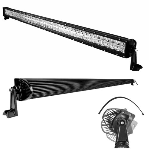 50Inch 288W Cree Led Light Bar Spot Flood Offroad 4WD Driving Lamp