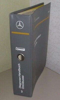 Constructief Werkstatthandbuch Mercedes Diagnose Handbuch Omnibus Bus Stand August 1995!