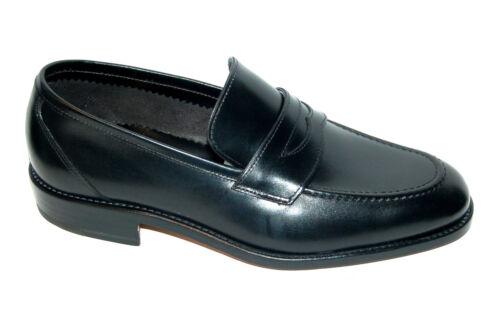 Black pelle Loafer Eu Blake Penny Uomo Cst 44½ Senza fodera in Suola Vitello vxwITqFR