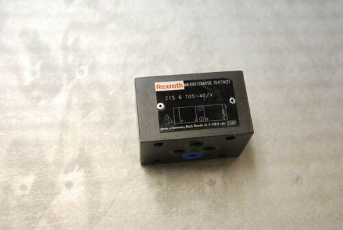 Rexroth Bosch Z1S6T05-40/V  R901086058 Hydraulic check  Valve Never in service